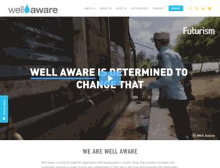 wellawareworld.org screenshot