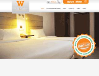 wellcomehotel.com screenshot
