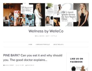 wellecoblog.com screenshot