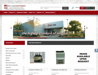 wellgainelectronics.com screenshot