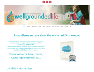 wellgroundedlife.com screenshot