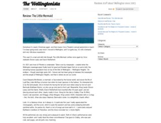 wellingtonista.com screenshot