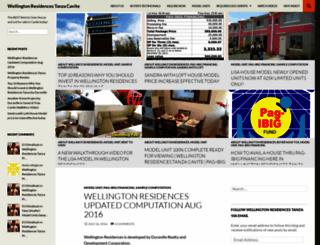 wellingtontanza.wordpress.com screenshot