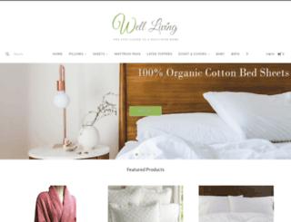 welllivingshop.com screenshot