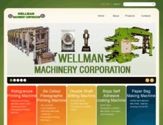 wellmanmccorpn.com screenshot