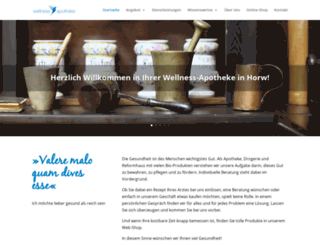 wellness-apotheke.ch screenshot