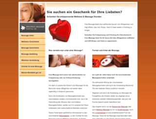 wellness-massage-portal.de screenshot