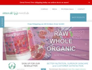 wellness.emeraldessentials.com screenshot