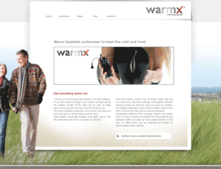 wellness.warmx.de screenshot
