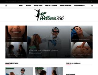 wellness786.com screenshot