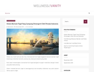 wellnessandvanity.com screenshot