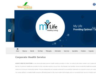 wellnessbangalore.com screenshot
