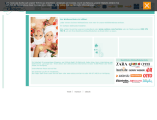 wellnesschoice.cadooz.com screenshot