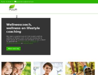 wellnesscoach.nu screenshot