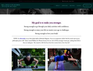 wellnessforwomen.com screenshot