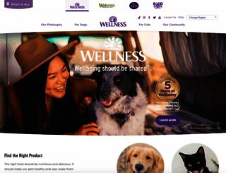 wellnesspetfood.com screenshot