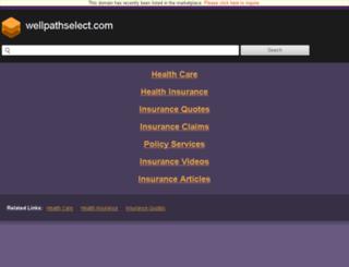 wellpathselect.com screenshot