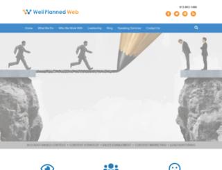 wellplannedweb.com screenshot