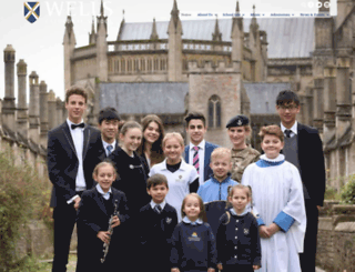 wells-cathedral-school.com screenshot