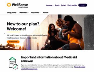 wellsense.org screenshot