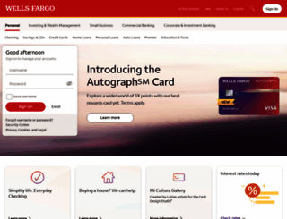 wellsfargoemail.com screenshot