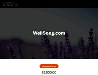 wellsong.com screenshot