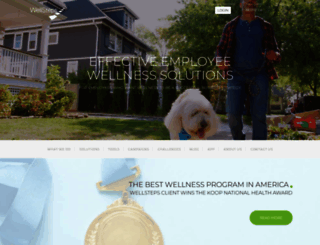 wellsteps.com screenshot