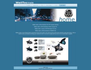 welltec-trade.ir screenshot