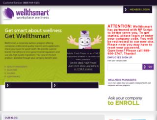 wellthsmart.com screenshot