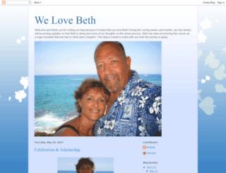 welovebeths.blogspot.com screenshot
