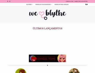 weloveblythe.com.br screenshot