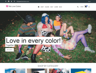 welovecolors.com screenshot