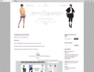 welovejenni.blogspot.com screenshot