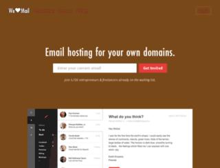 welovemail.com screenshot