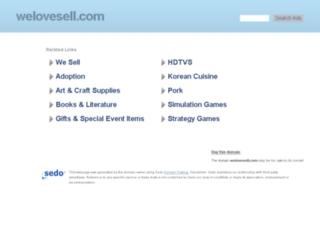welovesell.com screenshot