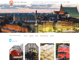 welovewarsaw.pl screenshot