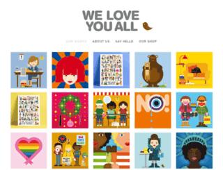 weloveyouall.com screenshot