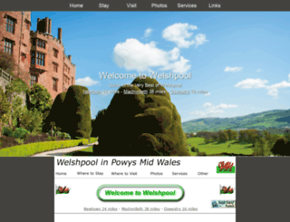welshpool.com screenshot
