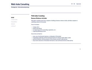 welti-india.com screenshot