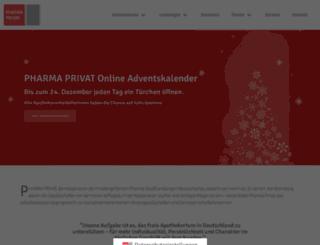 weltmeister.pharma-privat.de screenshot