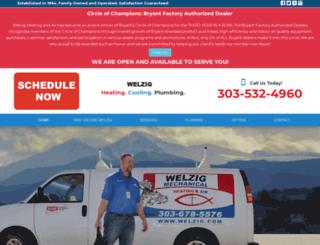 welzigmechanical.com screenshot