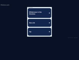 welzoo.com screenshot