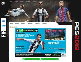 wemania.com.br screenshot