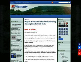 wematty.blogspot.com screenshot