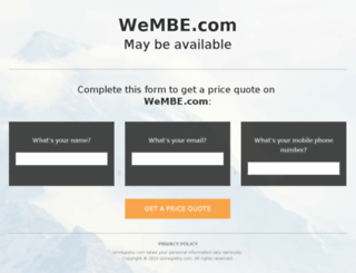 wembe.com screenshot