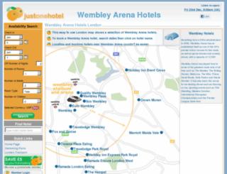 wembley-arena-hotels.com screenshot