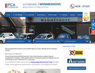 wemmenhoveautos.nl screenshot