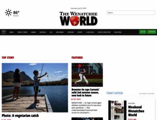 wenatcheeworld.com screenshot