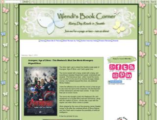 wendisbookcorner.blogspot.com screenshot