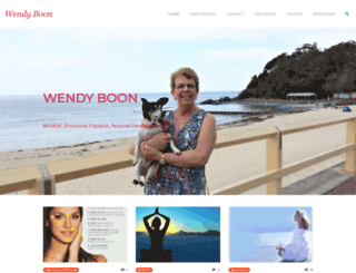 wendyboon.net screenshot